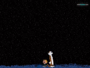 Postal: Calvin y Hobbes