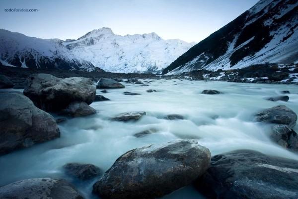 El derretimiento de los glaciares, en Nueva Zelanda