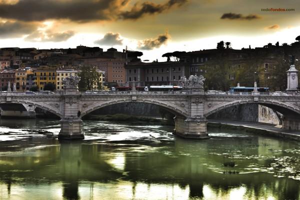 Ponte Vittorio Emanuele II, en Roma