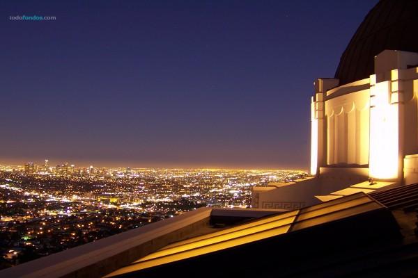 Vista de Los Angeles, California, desde el Observatorio Griffith