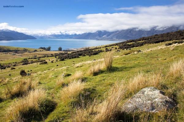 El lago Wakatipu (Nueva Zelanda)