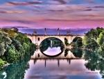 Puente Milvio, Roma (Italia)