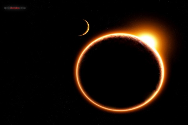 Un eclipse virtual