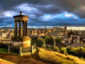 Panorámica de Edimburgo (Escocia)
