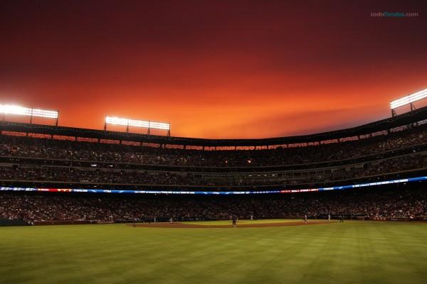 Estadio de béisbol de los Texas Rangers, en Arlington