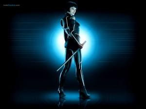 Postal: Quorra (Olivia Wilde) en Tron Legacy