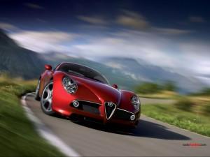 Postal: Deportivo Alfa Romeo
