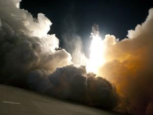 Lanzamiento del Endeavour