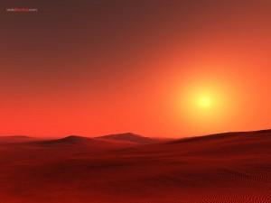 Postal: Desierto del Sahara