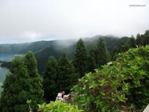 Vegetación en el archipiélago de Las Azores