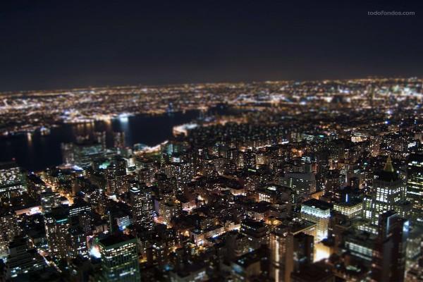 Nueva York vista desde el tejado del edificio Empire State