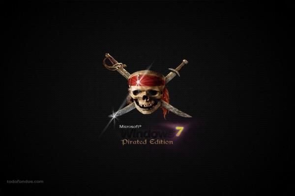 Microsoft Windows 7 Edición Pirata