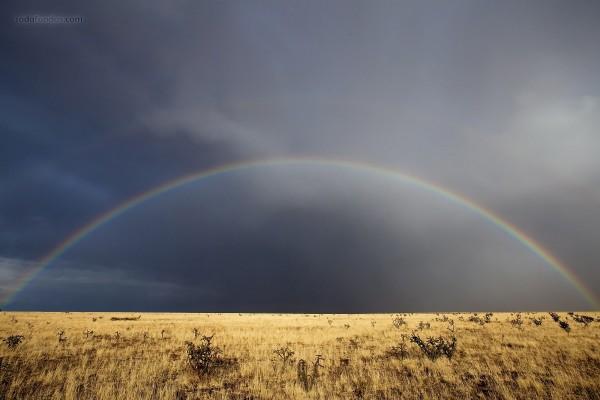 Un arco iris perfecto