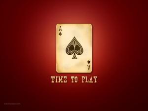 Postal: Es hora de jugar al poker