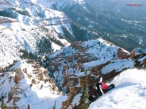Snowboard en Brian Head (Utah)