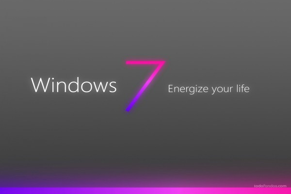 Windows 7. Energize your life