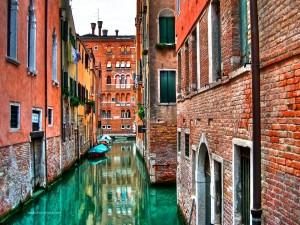Postal: Calles venecianas