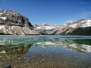 Postal: Lago Bow (Alberta, Canadá)