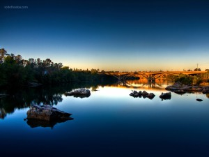 Aguas tranquilas, en Folsom (California)