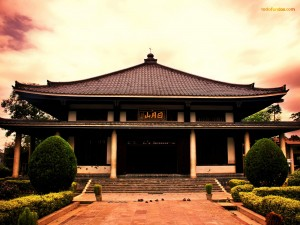 Postal: Templo budista en Sarnath (India)