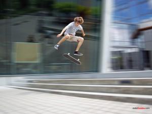 Postal: Skate de altura