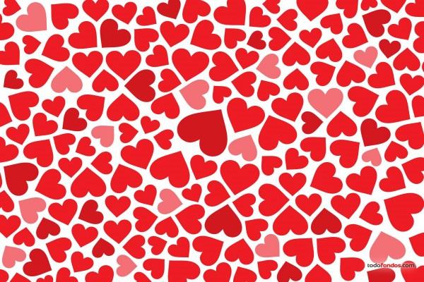 Un mar de corazones