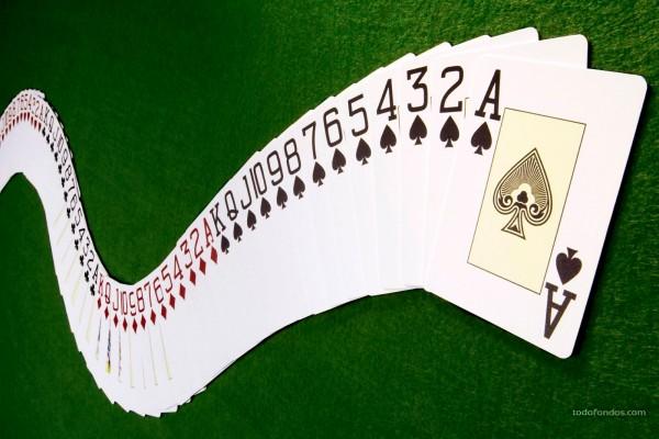Baraja de poker extendida