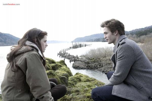 Kristen Stewart y Robert Pattinson (La saga Crepúsculo)