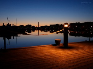 Postal: Puerto de Lahti (Finlandia)