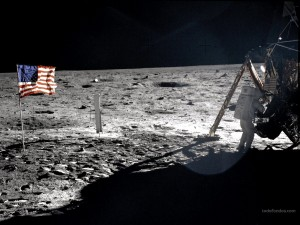 Postal: Misión Apolo 11 en la Luna