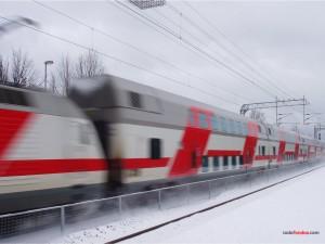 Tren a toda velocidad
