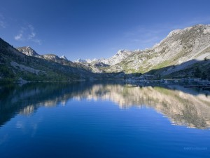 Lago Sabrina (Bishop, California)