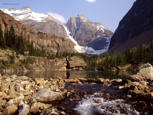 Postal: Parque Nacional Yoho (Canadá)