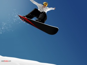 Postal: Salto de snowboard