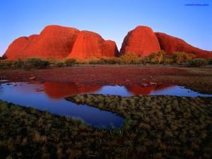Kata Tjuta, Monte Olga (Australia)