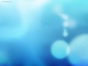 Postal: Luces azules