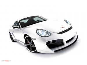 Postal: Porsche blanco