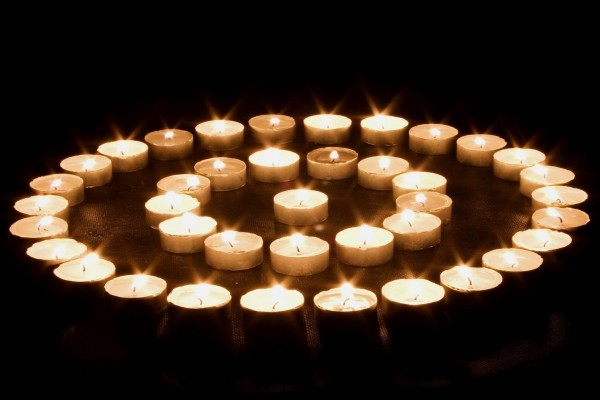Círculos de velas