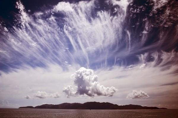 Cielo nebuloso