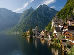 Lago Hallstätter See (Austria)