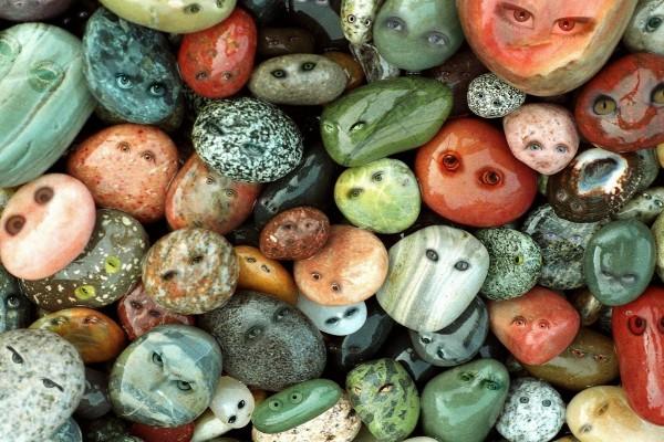 Piedras con cara