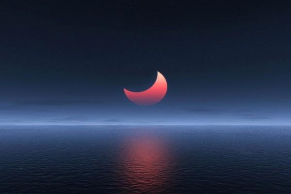 Eclipse rojizo