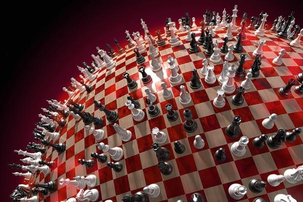 Tablero de ajedrez esférico