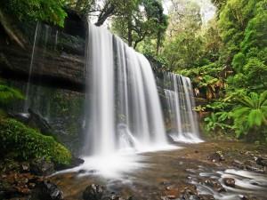 Cataratas Russell (Tasmania, Australia)