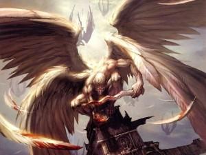 Postal: Un ángel caido, el Juicio Final