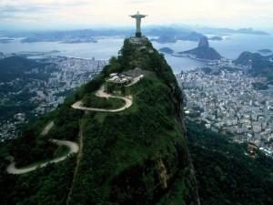 Vista de Río de Janeiro desde el cerro del Corcovado