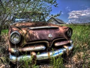 Postal: Dodge oxidado