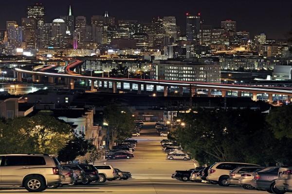 San Francisco de noche