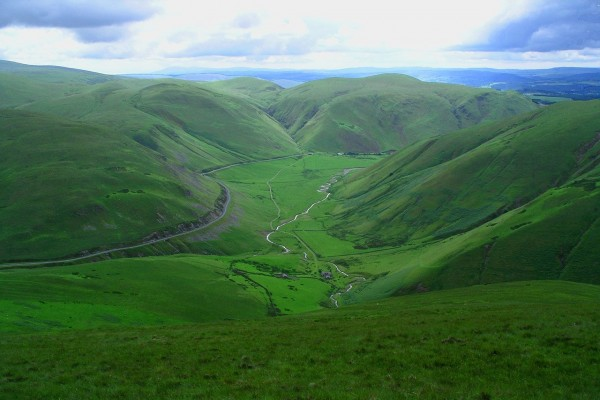 Colinas de Dumfriesshire, Escocia