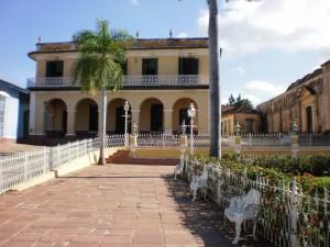 Postal: Centro histórico de Trinidad, Cuba